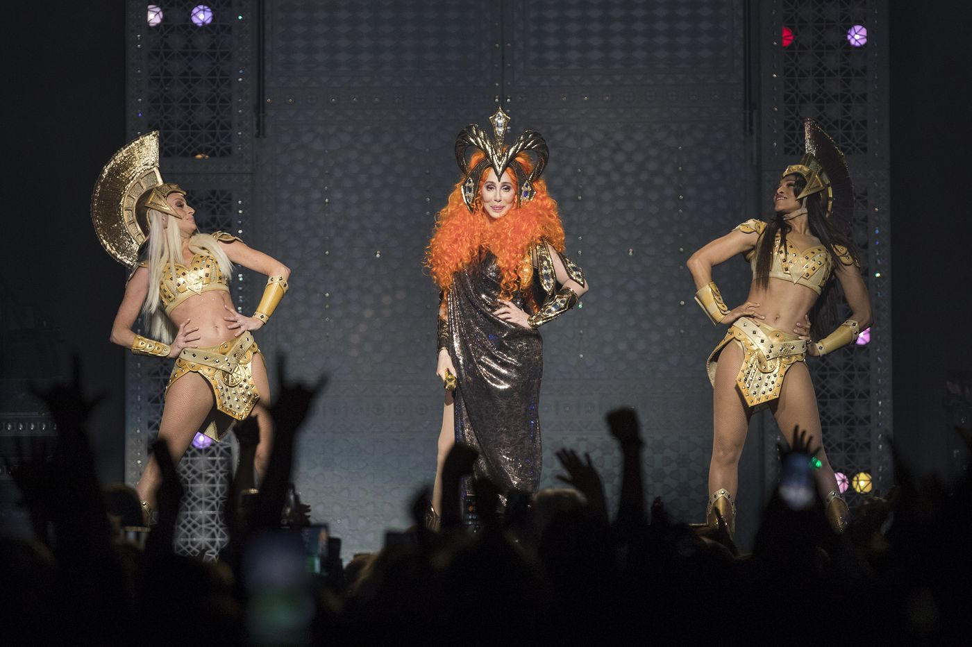 Review: Cher rides an elephant, makes a triumphant return at a sold-out Wells Fargo Center