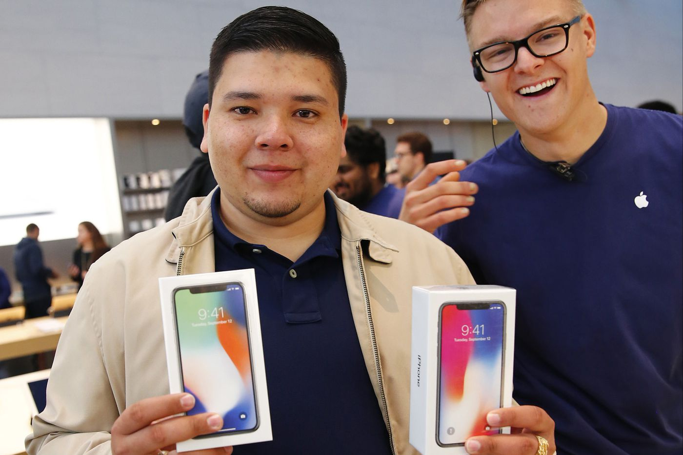 He hugged Tim Cook, bought the iPhone X, then was homeless by the roadside, asking for a job