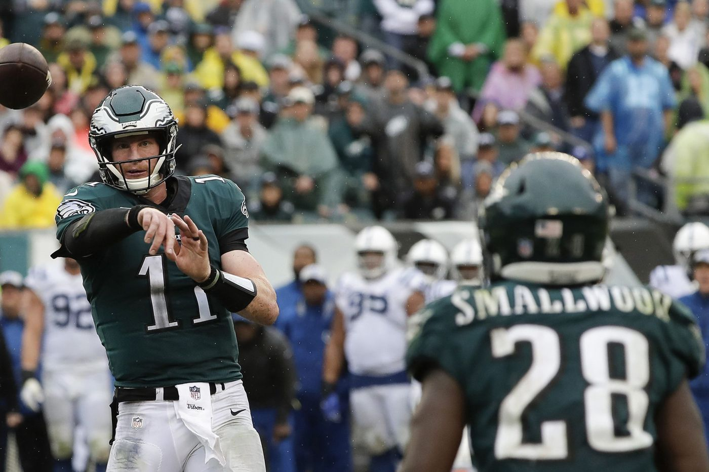 Eagles Panthers Making Sense Of Carson Wentz And Other Pregame