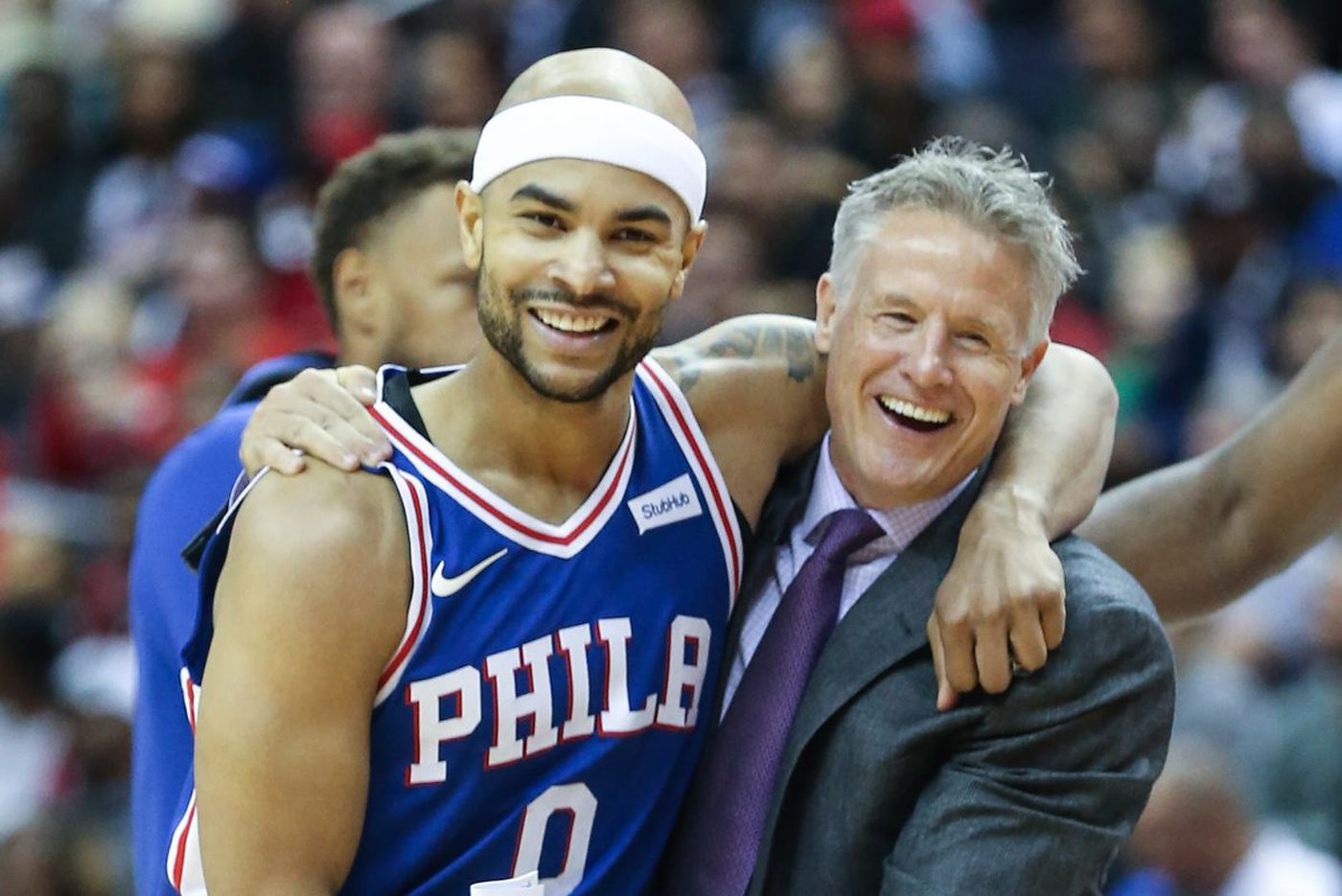 Small lineup put Sixers back in game in opener