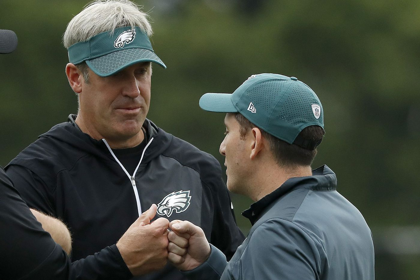 88e225bdbf2 Howie Roseman and Doug Pederson cashing in on success thanks to their  humble entrances and mutual ...