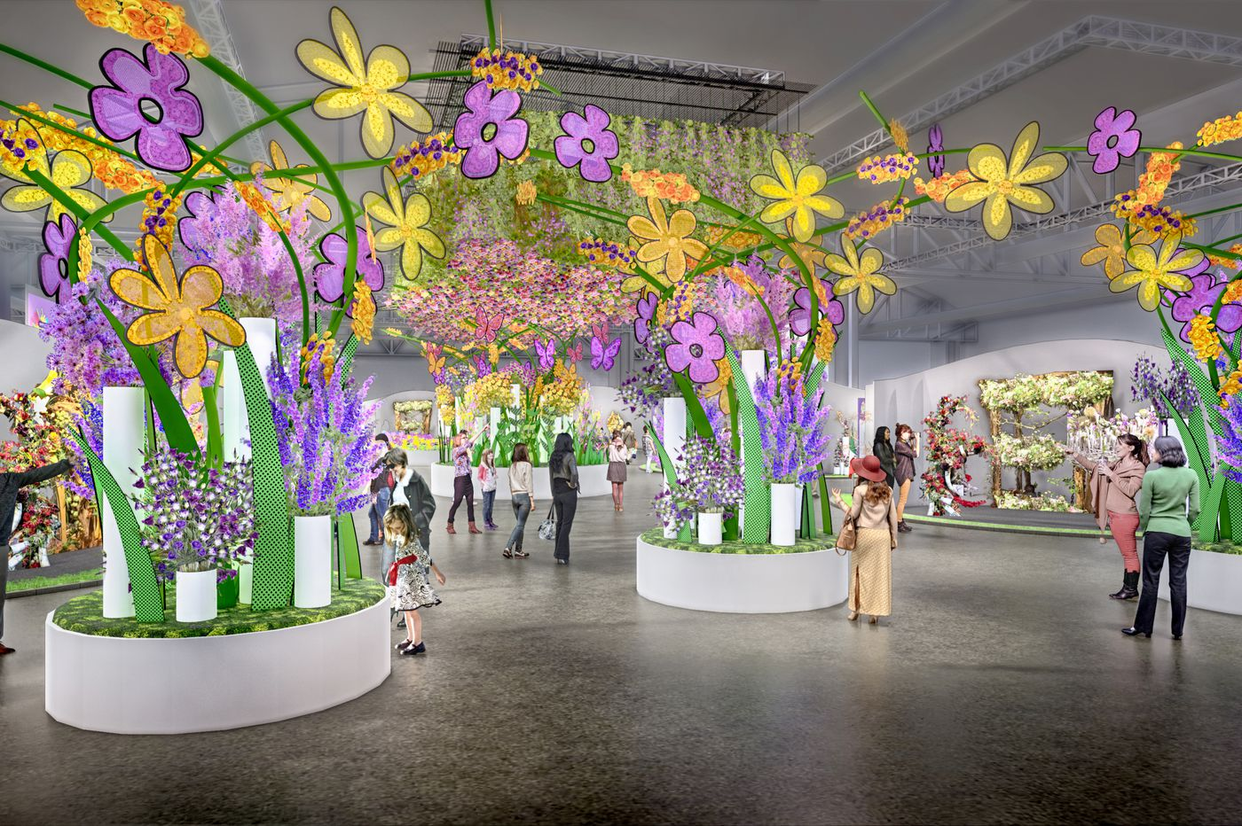 The Philadelphia Flower Show will host the Interflora World Cup in 2019, pitting floral designers against each other