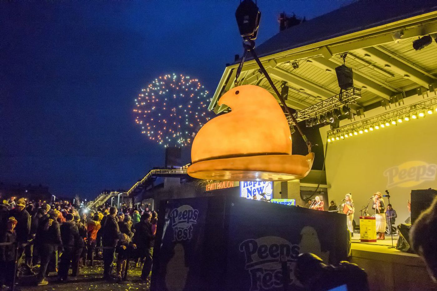 All of the weird things Pennsylvania drops on New Year's Eve