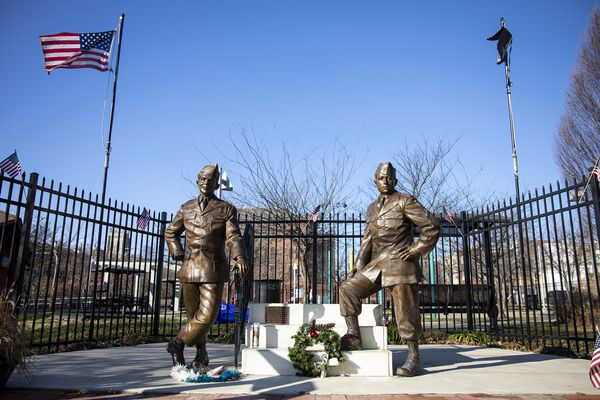 South Philly's 'Band of Brothers' soldiers are forever young in new memorial site