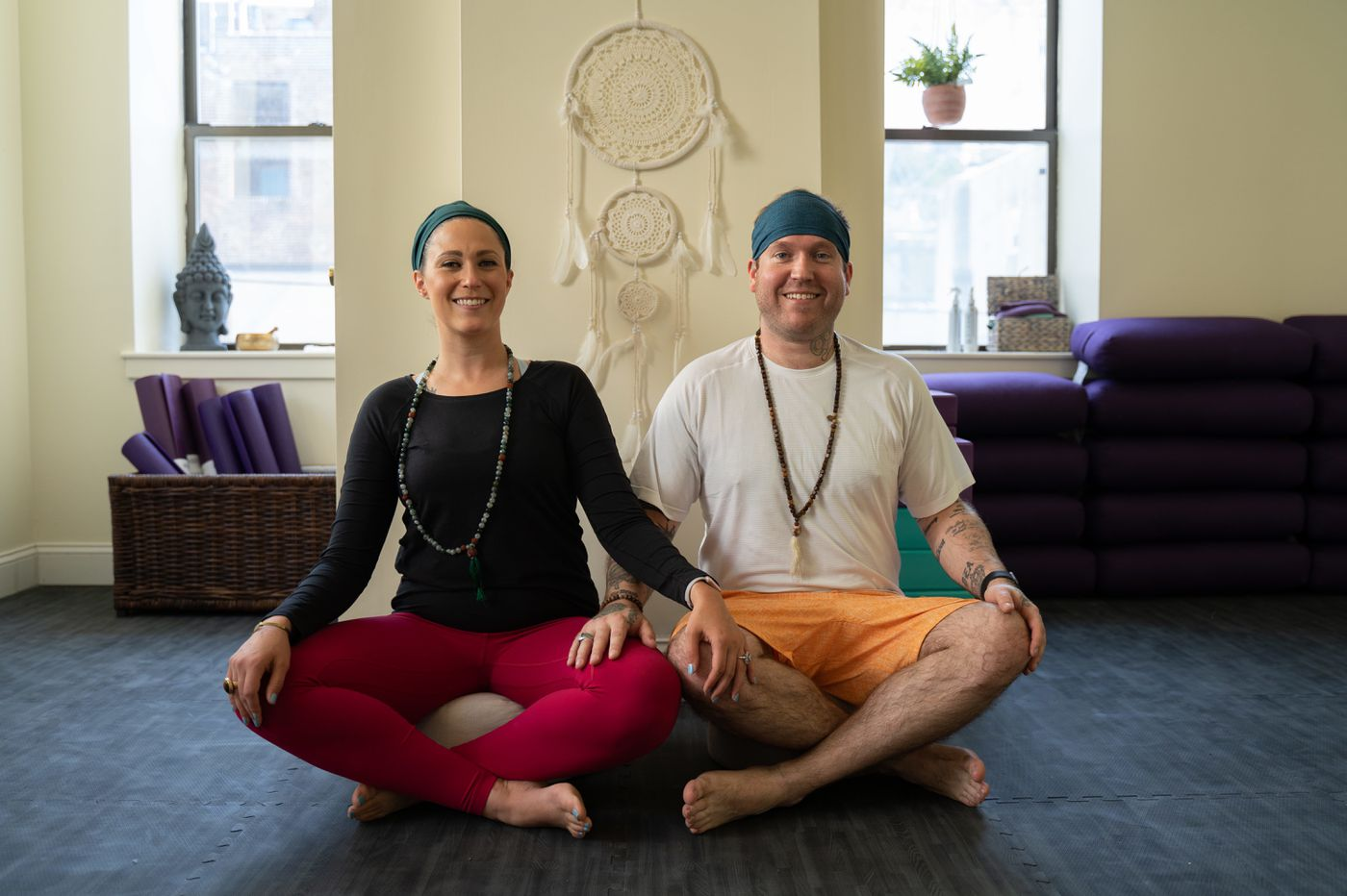 No more dingy church basements: This couple has created a beautiful, community yoga studio for people in recovery