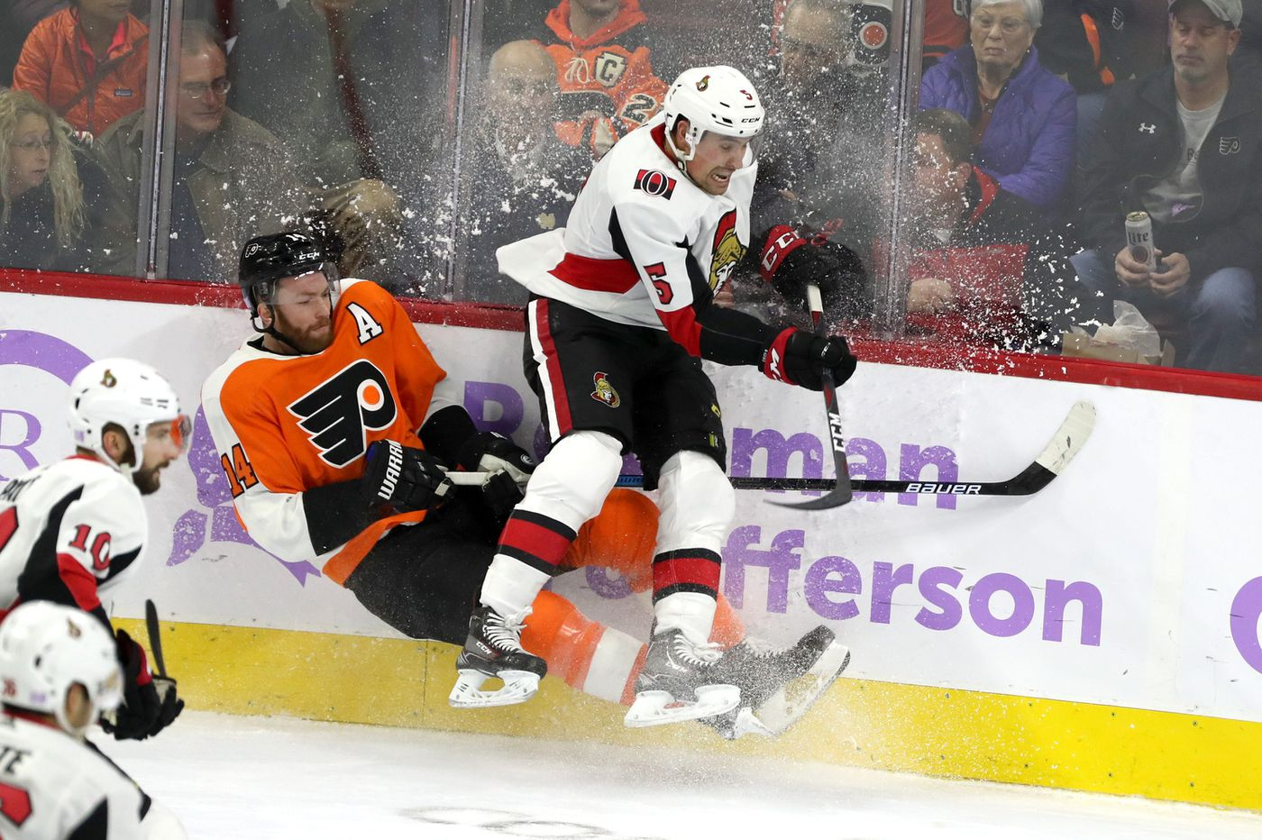 'Scared' Flyers collapse, lose to Senators in first game since Ron Hextall's firing