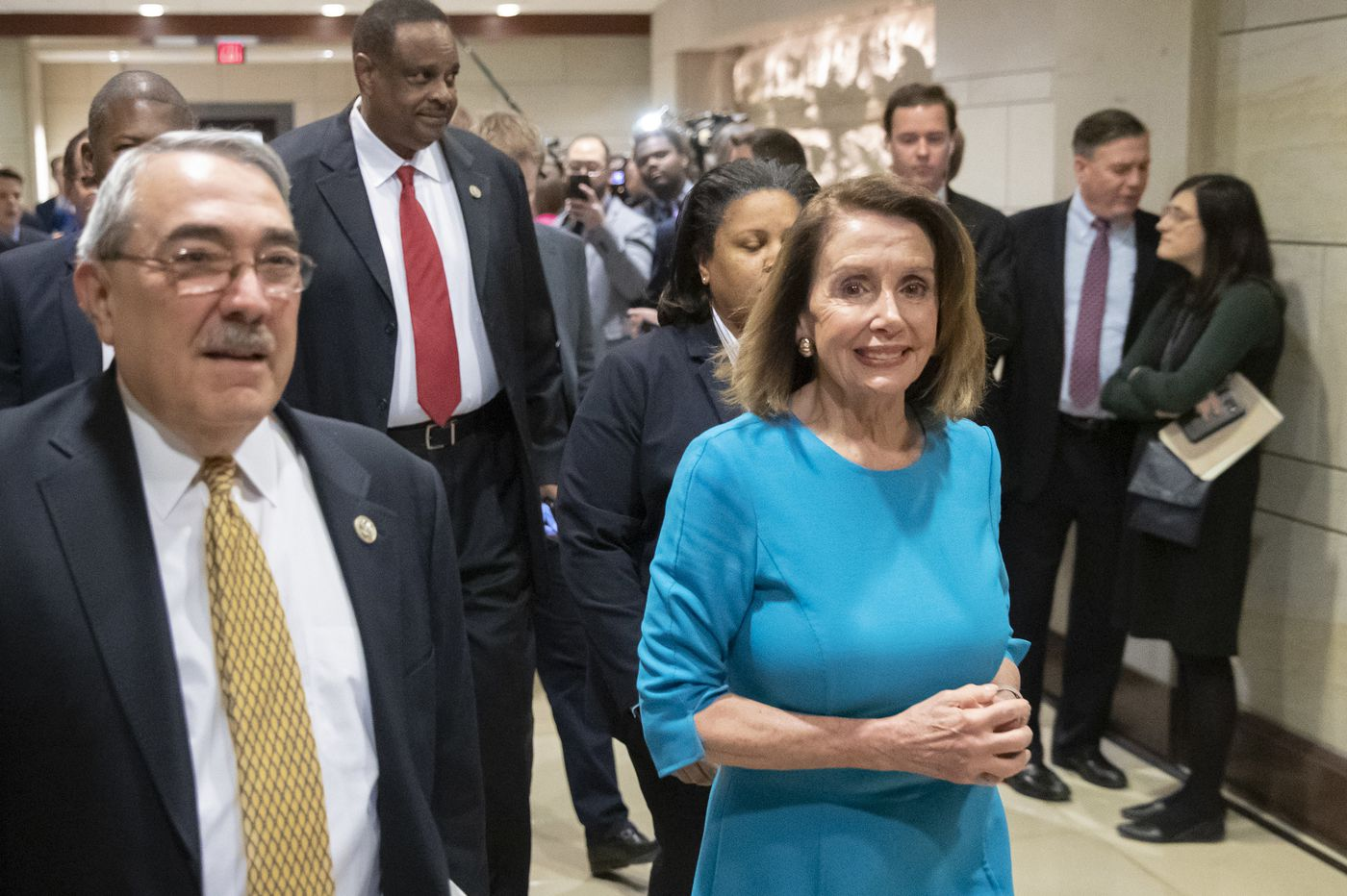 Democrats nominate Rep. Nancy Pelosi for House speaker