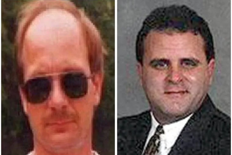 Lawyer David M. Manilla (right) has admitted to fatally shooting Barry Groh of Quakertown, Manilla's attorney said. Groh was illegally deer hunting with a high-powered rifle at the time.