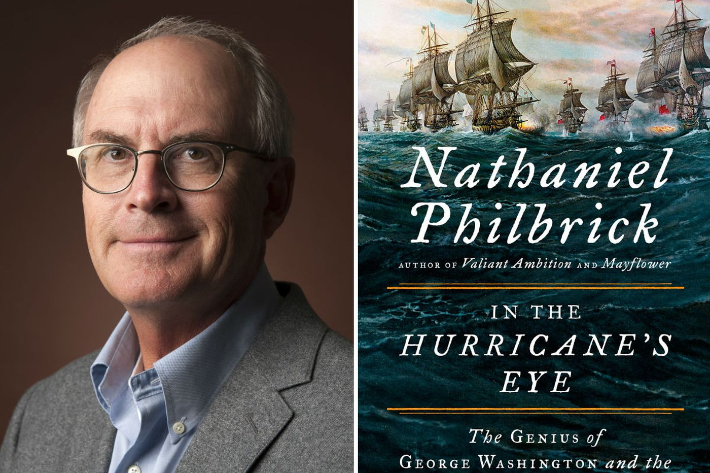 Nathaniel Philbrick's 'In the Hurricane's Eye': Brilliant Washington, and a glittering supporting cast