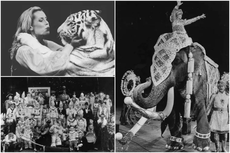 Ringling Bros. through the years