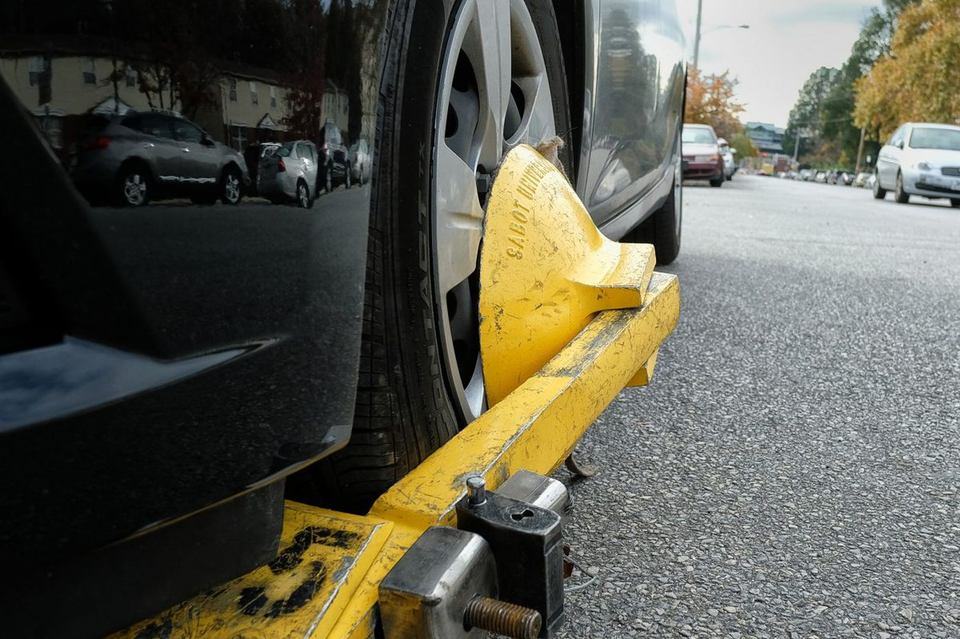 Why it's not OK for the Parking Authority to surprise boot cars for ancient tickets   Editorial