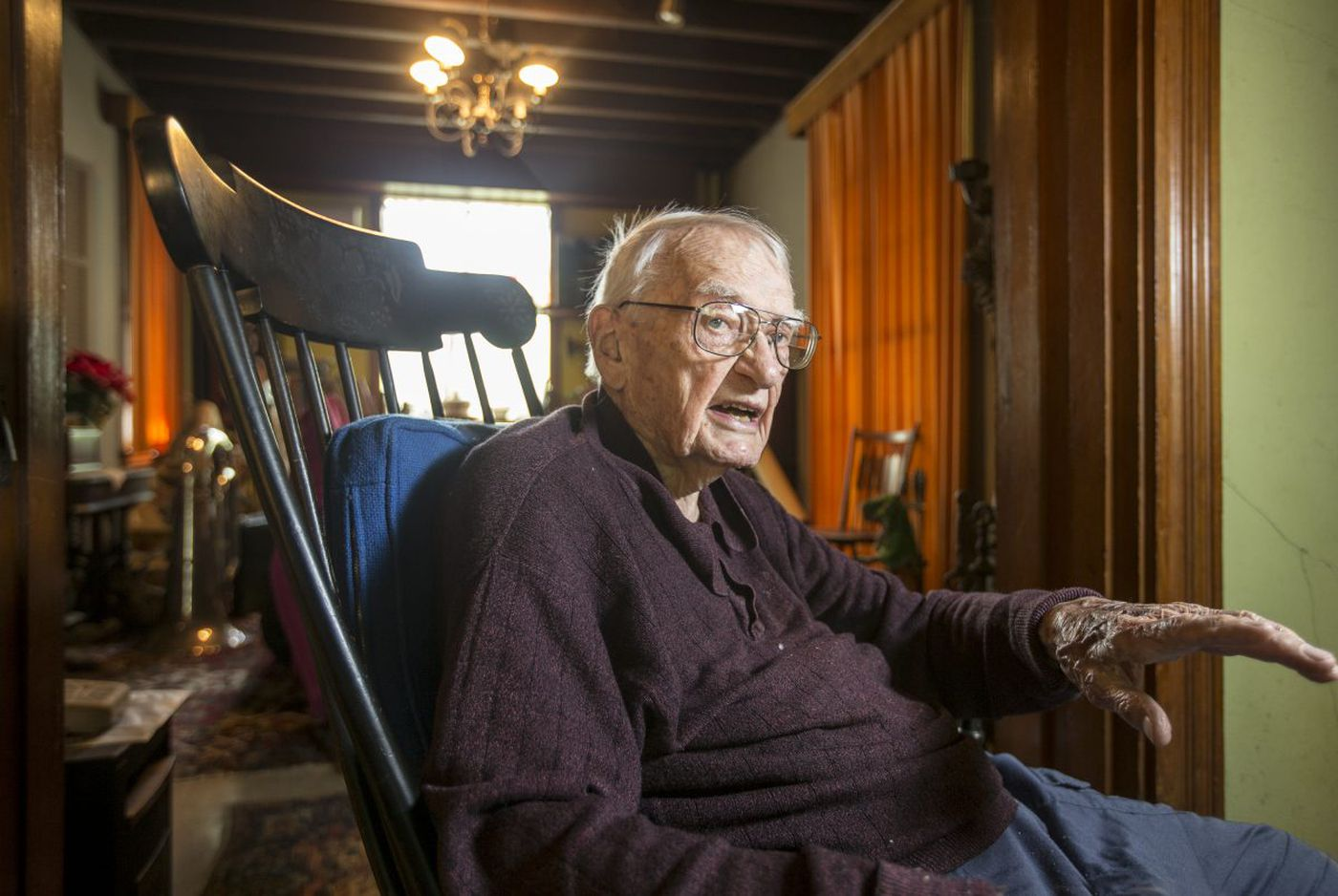 Camden-born illustrator, turning 100, left his mark on Nazi trials   Stu Bykofsky