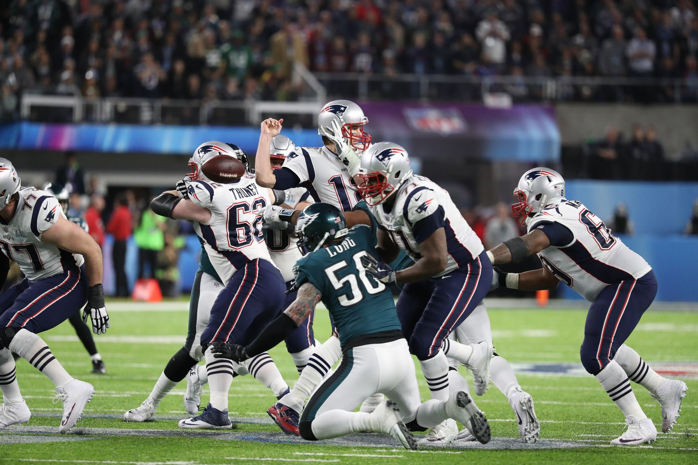 How Eagles' Brandon Graham overcame pair of injuries in Super Bowl to sack Tom Brady