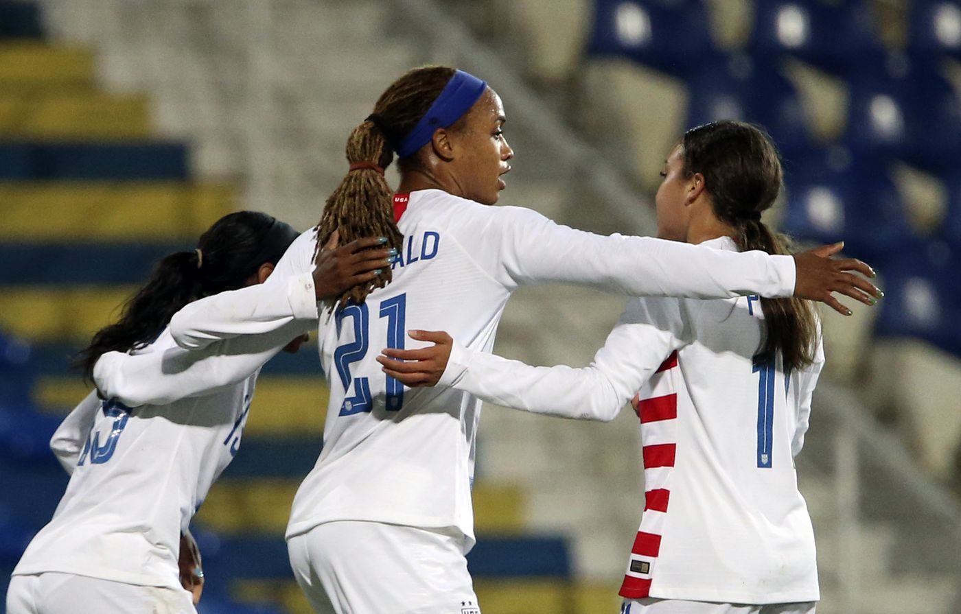 Jessica McDonald has the USWNT's best story at the Women's