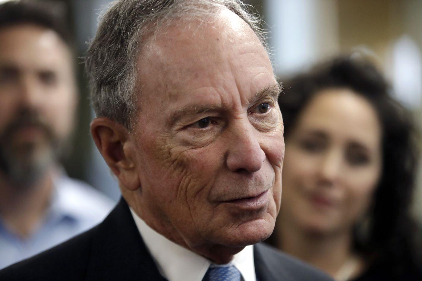 Michael Bloomberg considers run for president against Trump