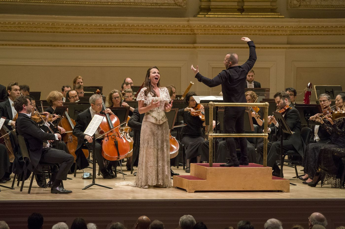 It's a Yannick fest at Carnegie Hall, and the first show is a hit