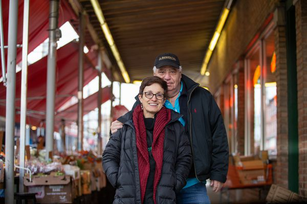 Love in Philly's Italian Market — where everybody knows your business