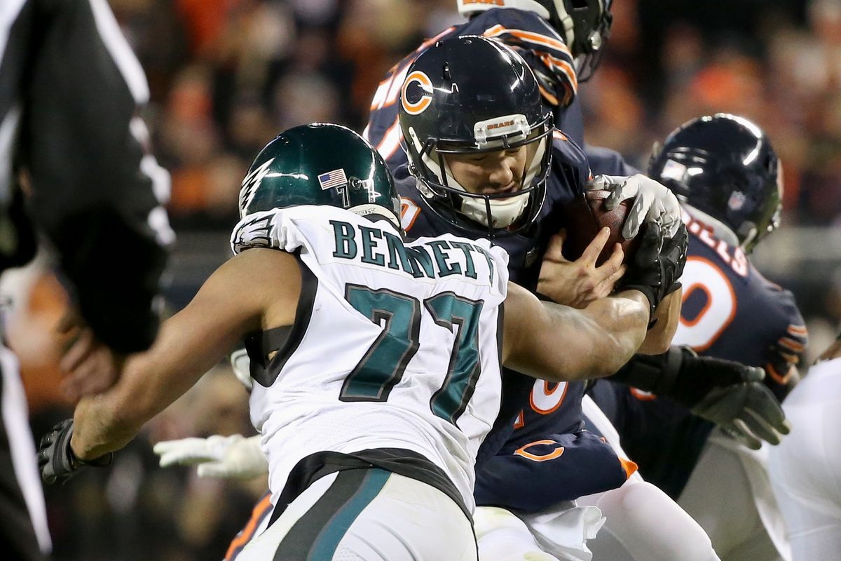 QnA VBage Grading the Eagles: Run defense earns 'A-minus' in playoff win over Bears - Philly.com