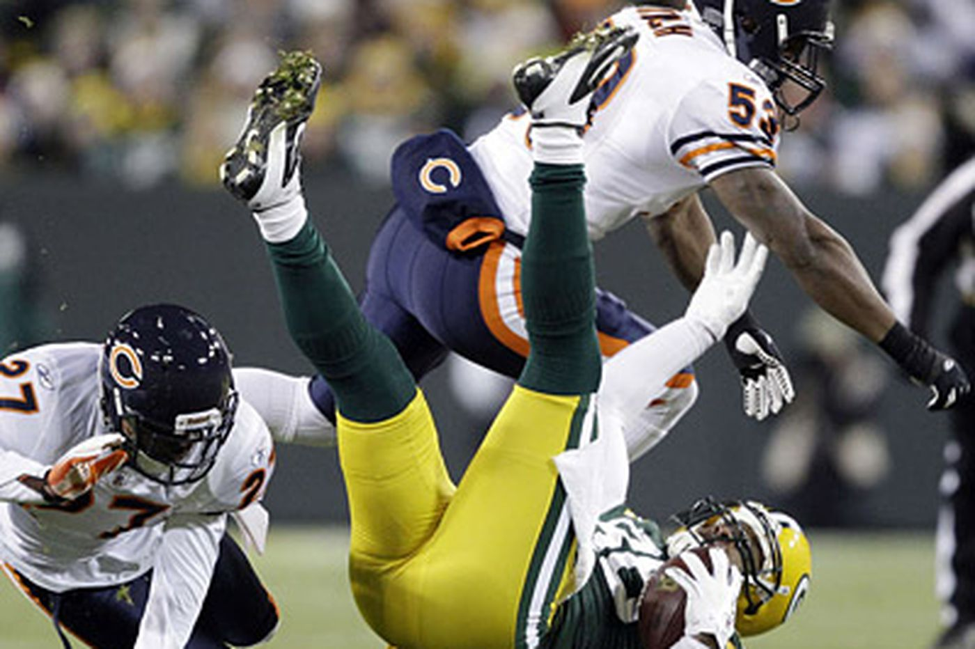 NFL: Green Bay's win takes out Chicago