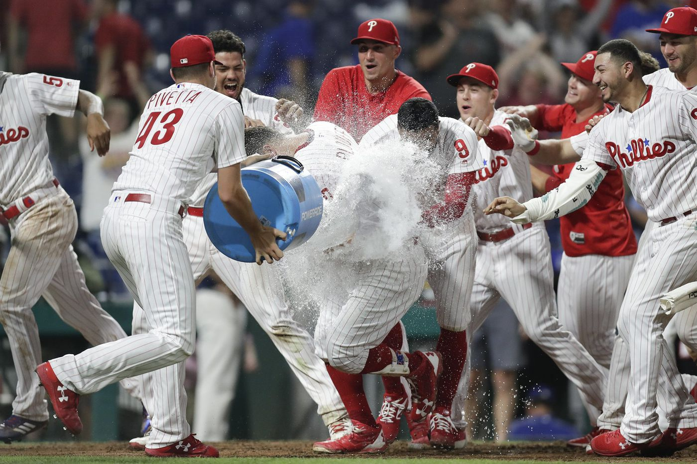 Phillies beat Dodgers in 16-inning game lasting nearly six hours