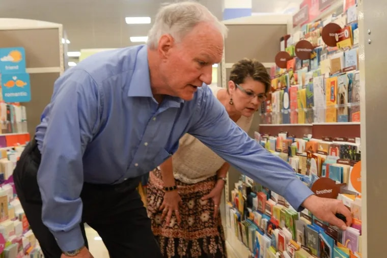 Some hindrances to shopping for elderly, according to Phil and Karin Damiani, include item placement, either being too high for seniors to reach, or too low to the ground,.