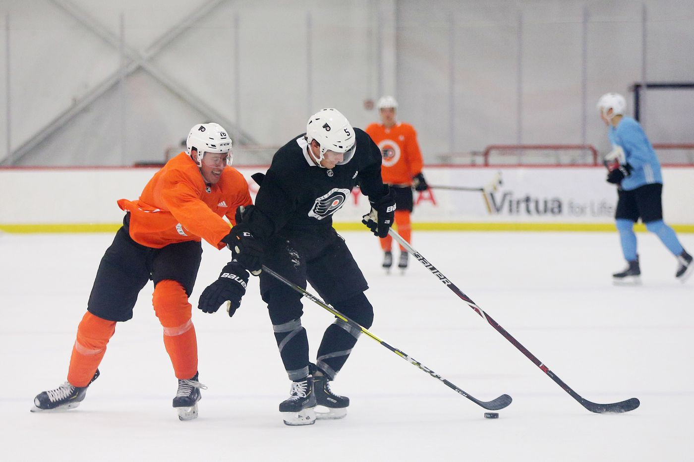In his first full NHL season, Flyers' Phil Myers ready to build off promising debut
