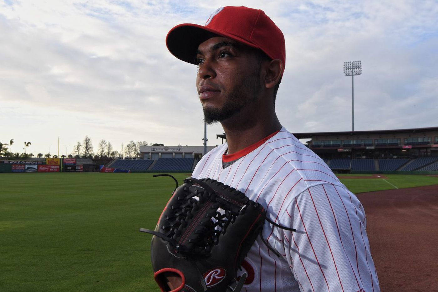Phillies prospect Seranthony Dominguez leads crop of promising young arms