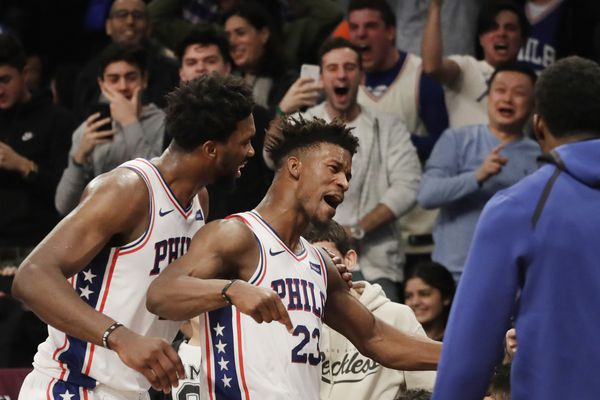 Jimmy Butler dismisses reports that he preferred the Knicks over the Sixers: 'I'm loving it here'