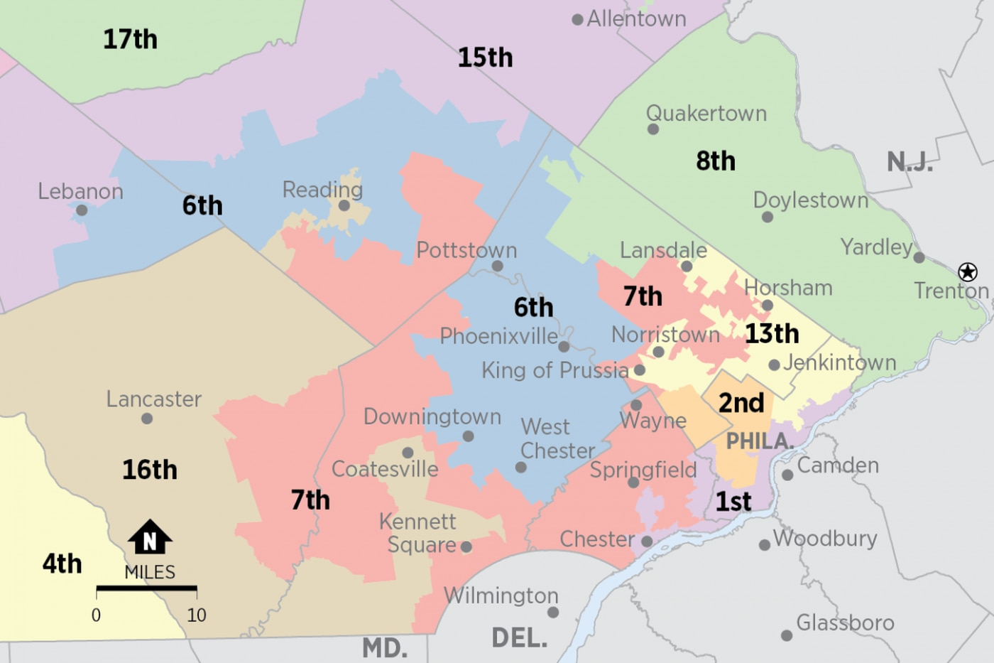 Pa. Republicans ask state Supreme Court to stay its own gerrymandering order