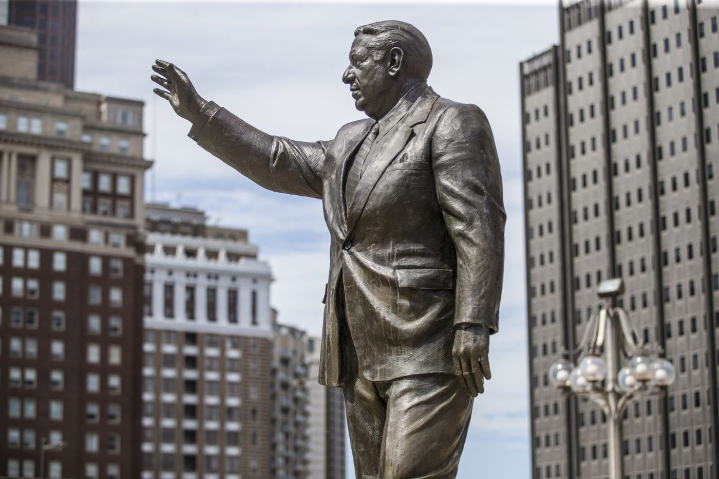 Sculptor of Frank Rizzo statue is against moving it, warns of damage