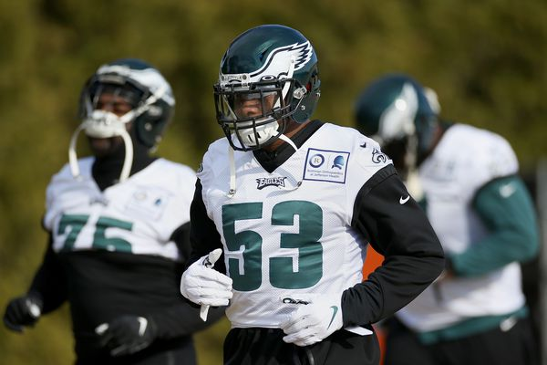 Eagles' Nigel Bradham will return from ankle injury against Seahawks