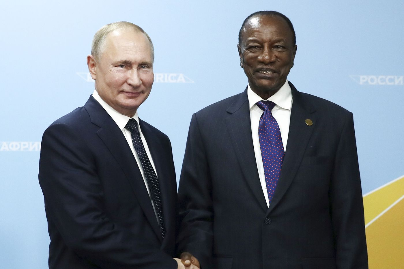 Putin, Guinea president allegedly discussed getting around term limits