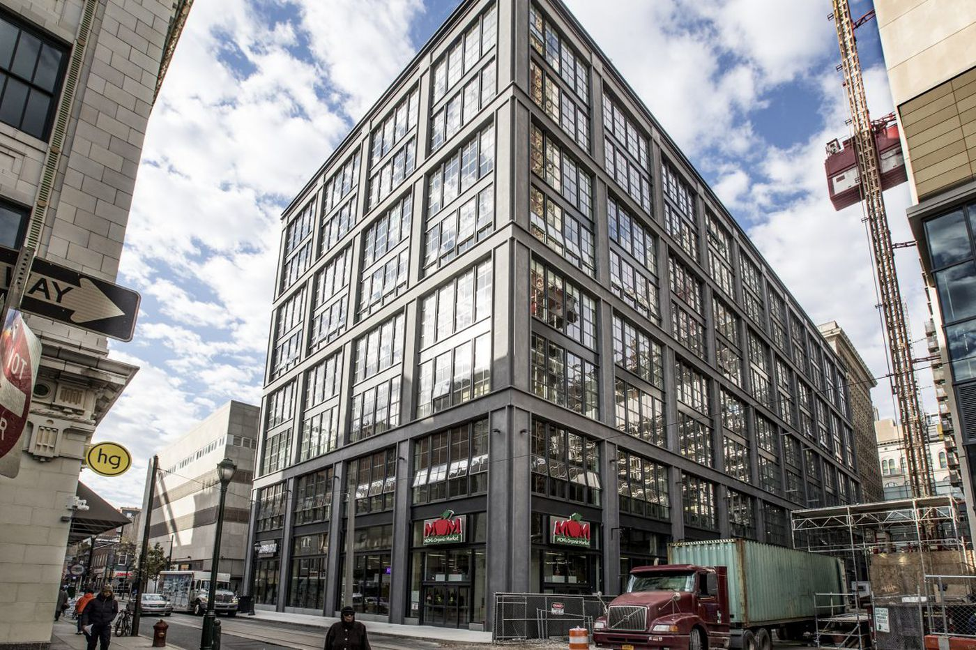 First completed building in Philly's East Market project takes its cues from New York's SoHo lofts