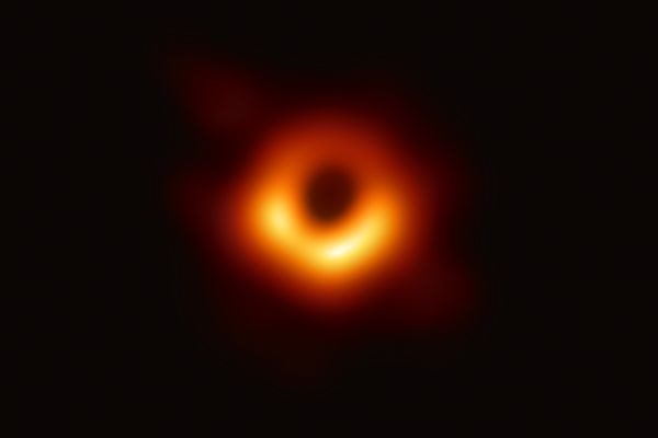 First picture of a black hole released: 'We have seen ... the unseeable'