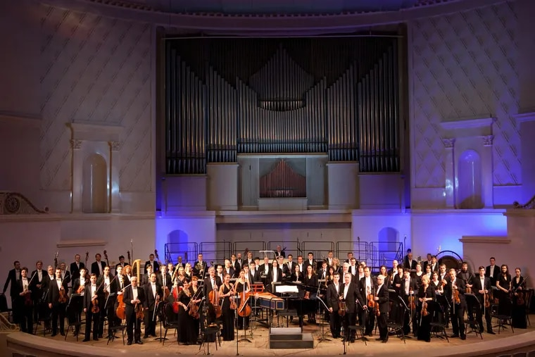 The Russian National Orchestra played the Grand Opera House in Wilmington, Del. on March 4, 2016. Photo: RNO.