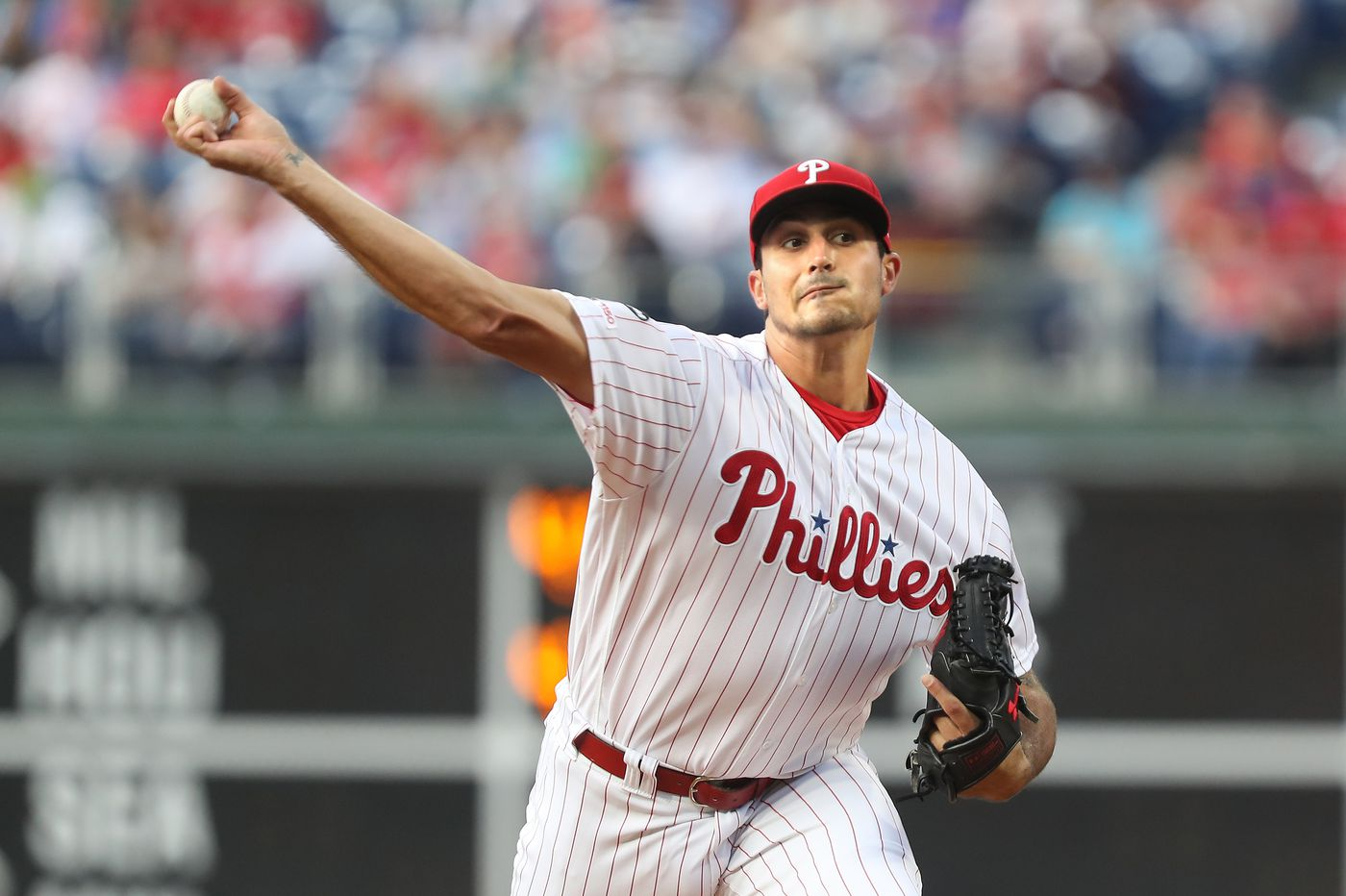 Bats disappear in Zach Eflin's solid start, Phillies lose to D'backs, 2-0