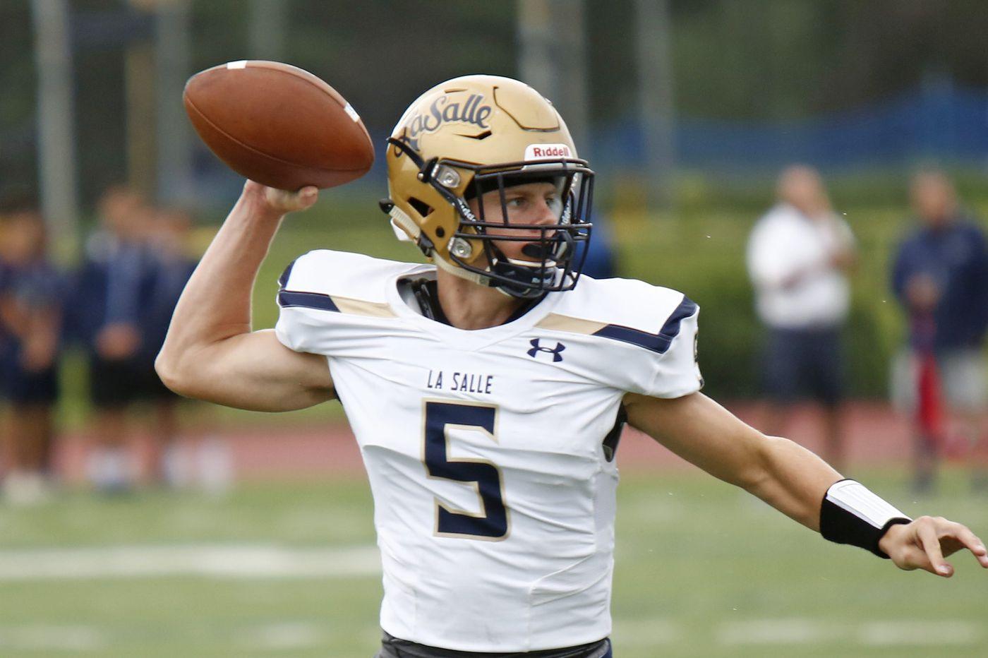 High school football preview: La Salle to battle No. 1-ranked St. Joe's Prep