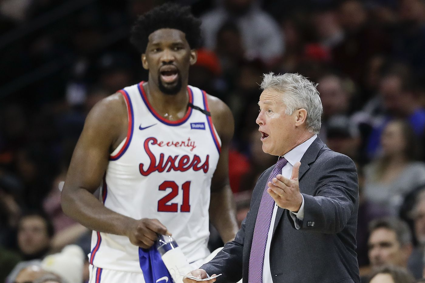 Sixers discuss fears of dealing with the coronavirus