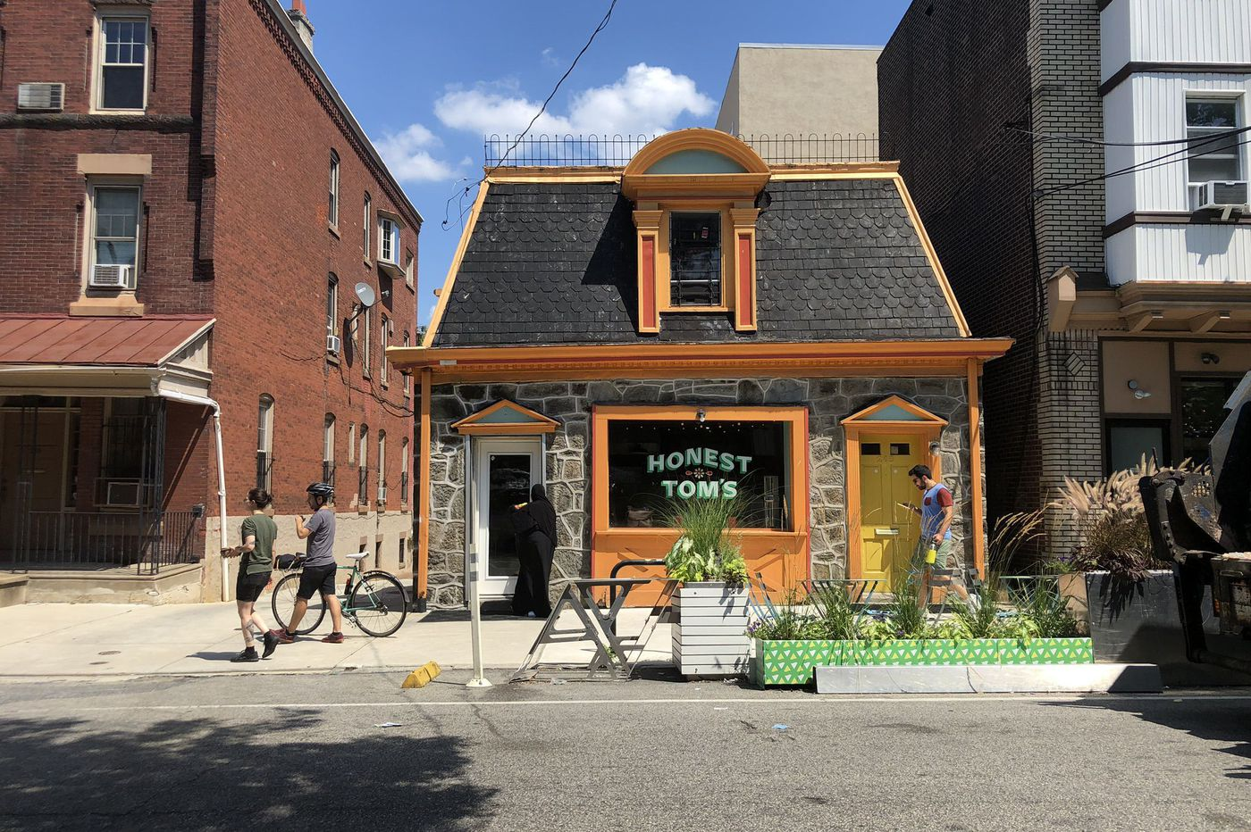 These adorable one-room buildings survived decades of change in West Philadelphia