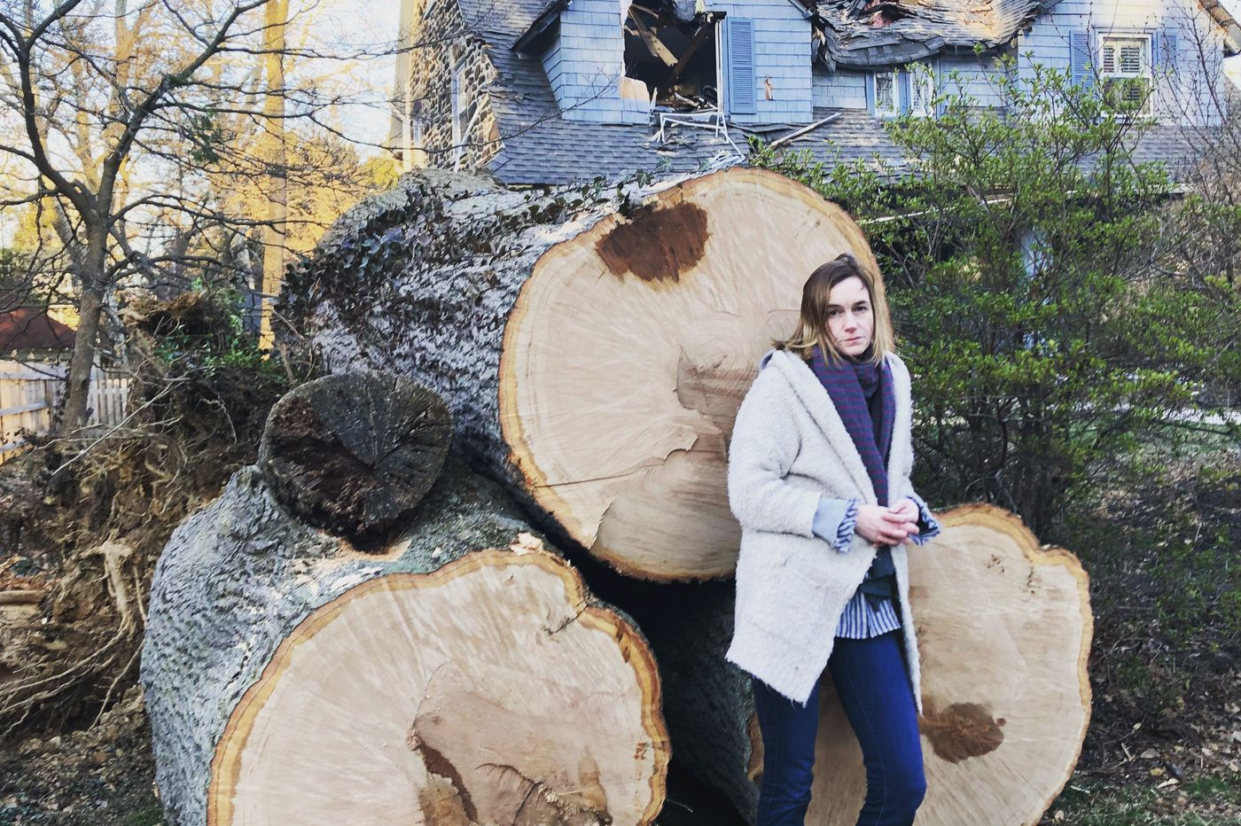 After a tree fell on her house, her depression lifted. But then came the 'let-down effect.'