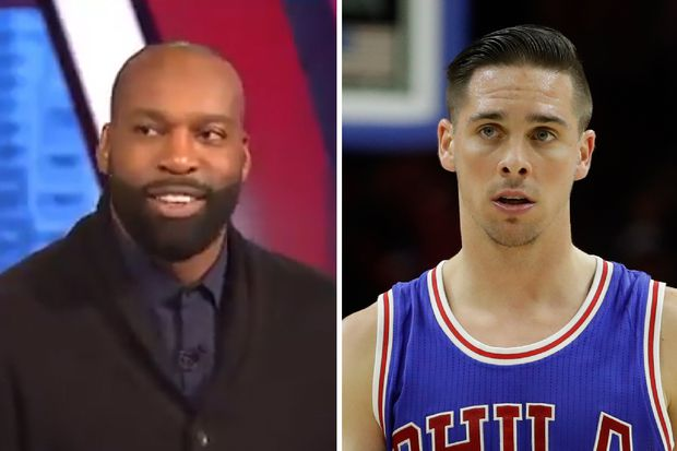 TNT's Baron Davis mocks T.J. McConnell during Sixers-Celtics broadcast