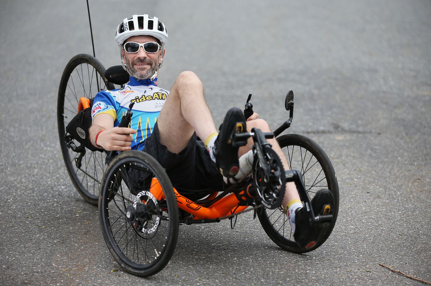 This man got a grave medical diagnosis. So what did he do? Ride his bike cross-country.