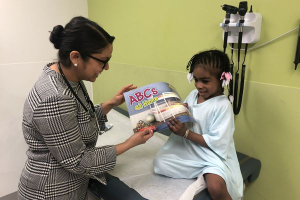 This Philly pediatrician always prescribes reading to patients and parents. Here's why.
