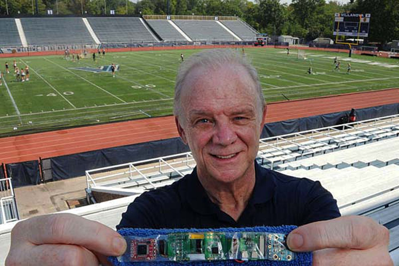 A Villanova inventor learns the ways of crowd-funding