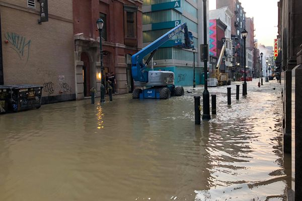 Work to repair broken water main in Center City Philadelphia could take months