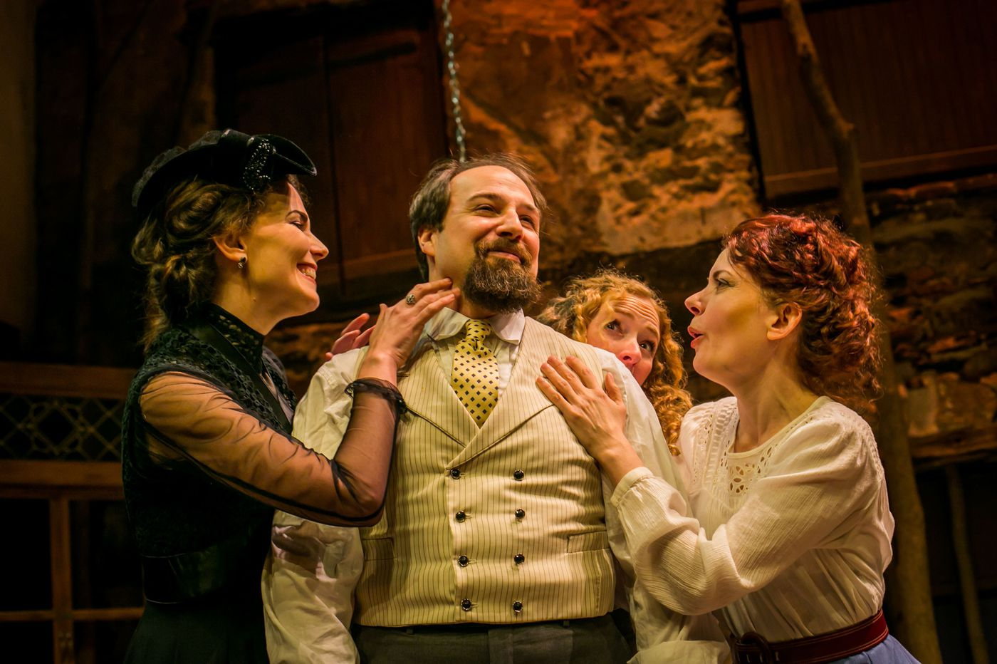 'Three Sisters' at Hedgerow: Fresh and faithful Chekhov, with a darker element