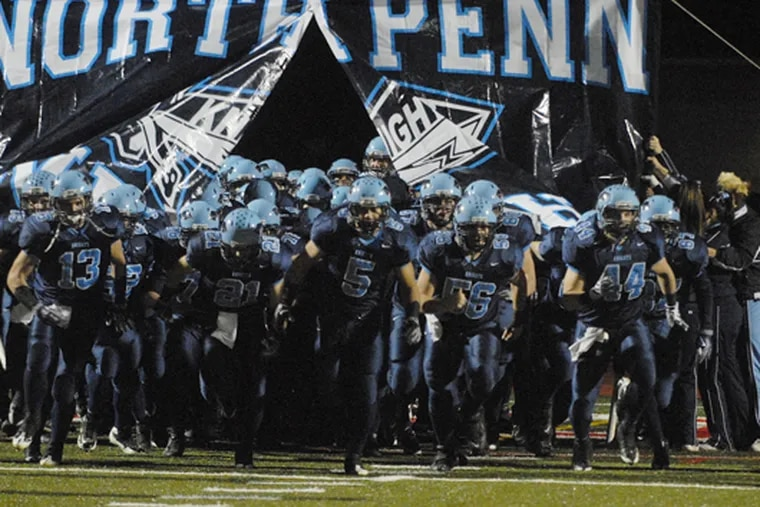 The North Penn football team picked up an important conference win against Souderton on Friday.