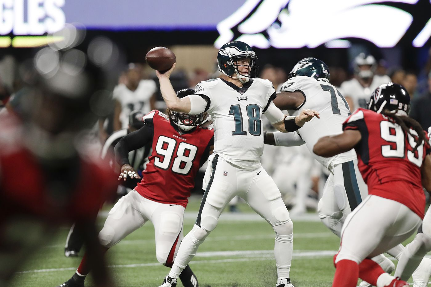 The chance for a taste of the playoffs helped lure Josh McCown to the Eagles; he's savoring the moment