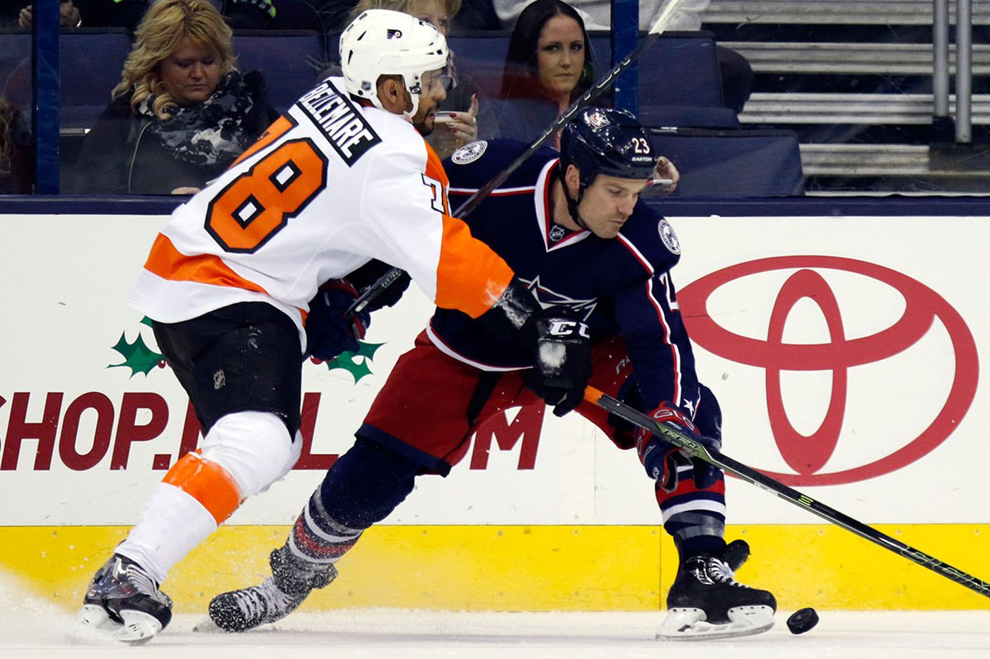 Flyers fall to Blue Jackets in shootout