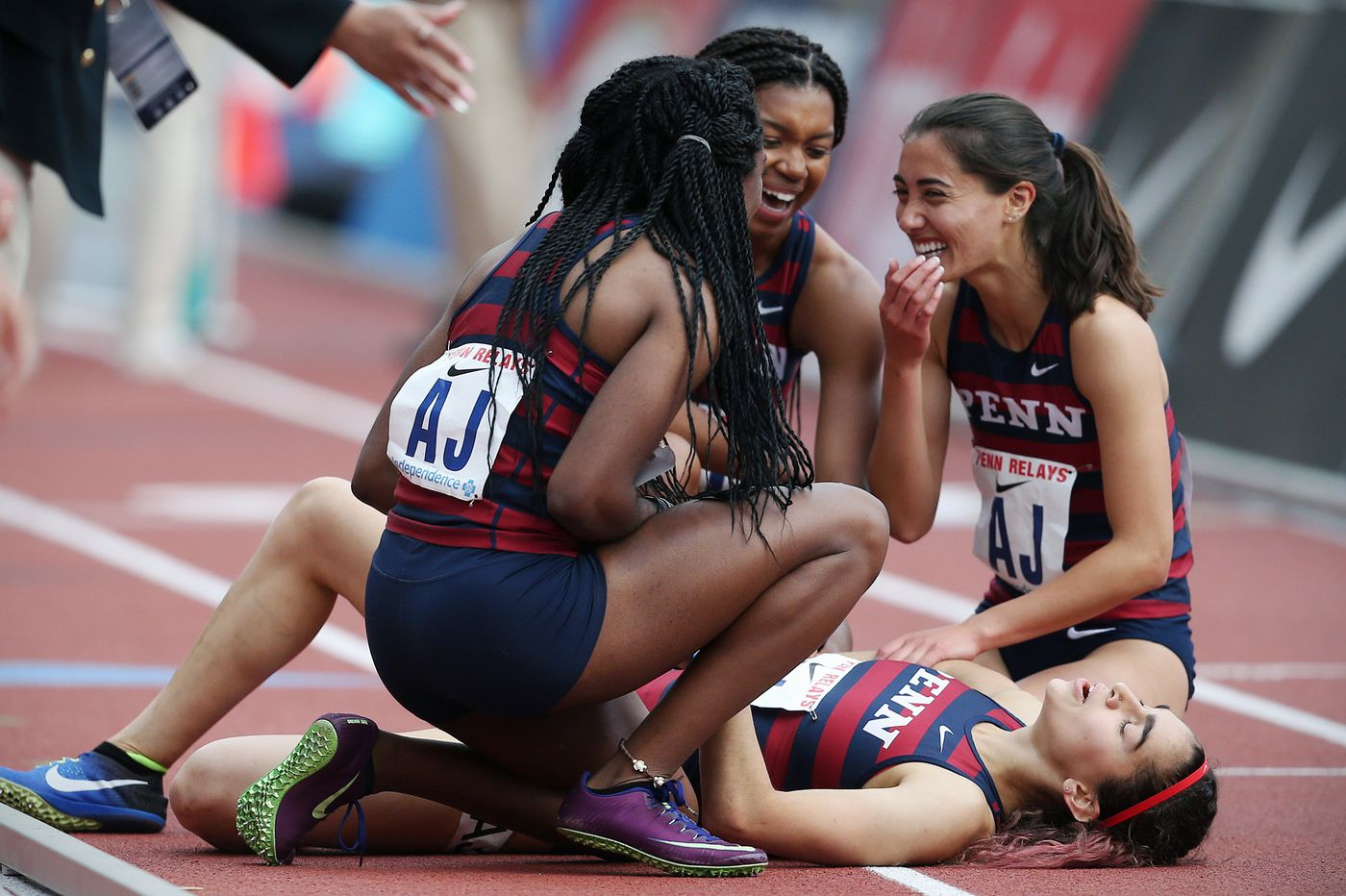 Penn women make history with first distance medley relay win at Penn Relays